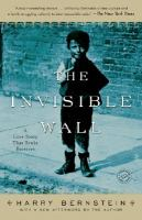 Book cover for The Invisible Wall by Harry Bernstein