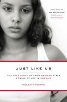 Book cover for Just Like Us by Helen Thorpe