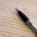 photo of pen and paper