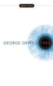 Book cover for 1984 by George Orwell